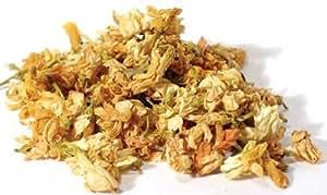 Jasmine Flowers, Dried Herb, 1 Oz 100% Natural No Additives by AzureGreen