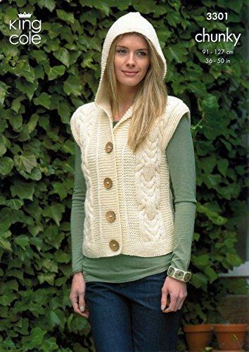 Slipover /& Jacket Merino Knitting Pa... King Cole Ladies /& Mens Sweater