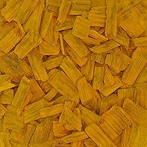 paligo Madera Pella de amarillo Colores Pella de bosque Pino Jardín Decoración de Mantillo Madera häcksel G30grueso 0–Saco de 60mm (70L/1cartón)