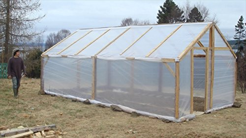 Sunview Greenhouse Clear Plastic Film Polyethylene Cover 4 Year 6 Mil 12ft X 25ft by Sunview (Image #3)