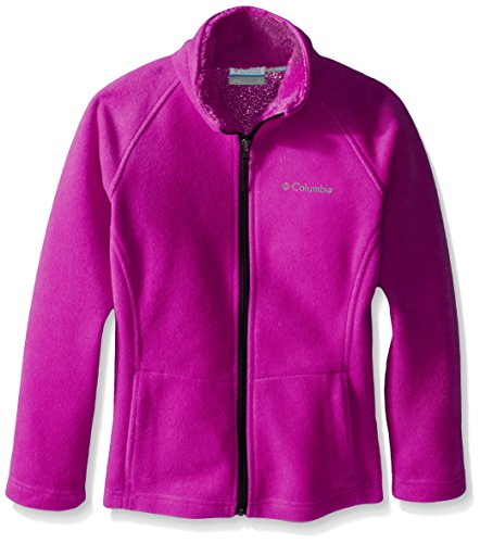 Columbia Girls' Dotswarm II Fleece Full Zip Jacket