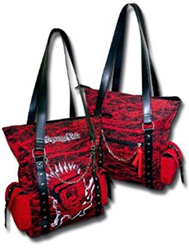 Sponge Bob Punk Courierbag Tasche Large Rot / Schwarz 10325300