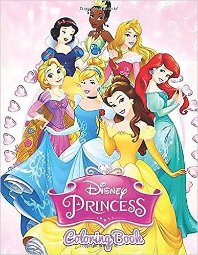 Disney Princess Coloring Book: Children\'s Colouring Book has ...