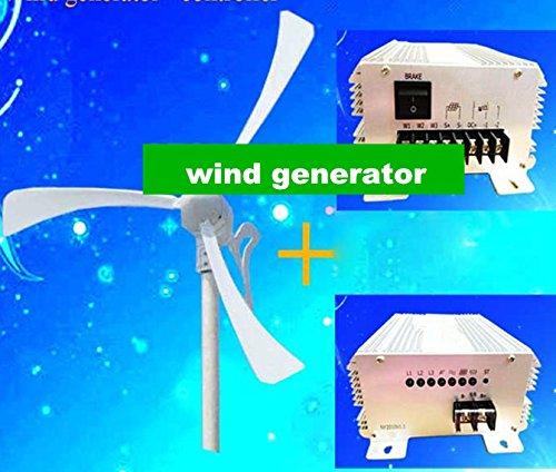 GOWE 650W wind solar hybrid controller(400W wind /250w solar ) +400w wind generator Max power 500w