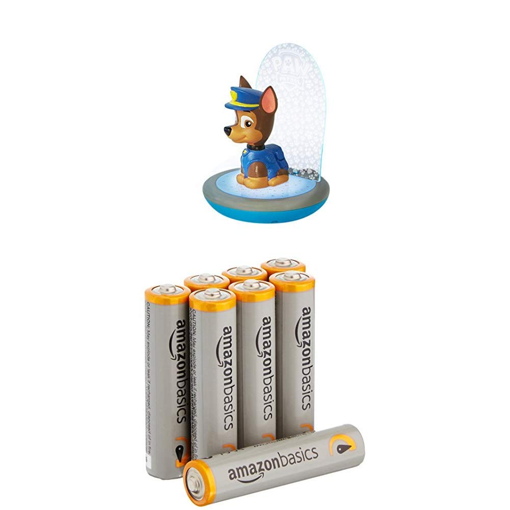 Paw Patrol Magic Night Light - Chase Kids Torch and Projector by Go Glow