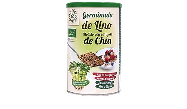 Sol Natural Germinados de Lino Molido con Chia - 500 gr: Amazon.es: Alimentación y bebidas