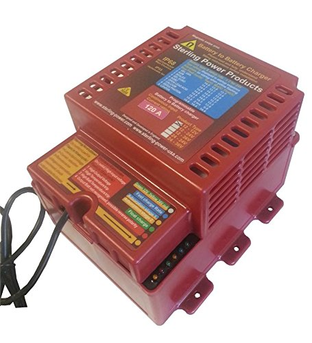 Sterling Battery To Battery Charger 12V 12V 120 Amp Input