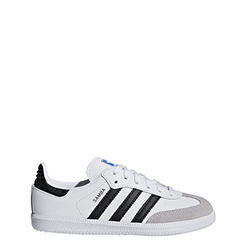 classic fit 42b1c 35fca adidas Originals Kids Unisex Samba OG C (Little Kid) White Black 1 M