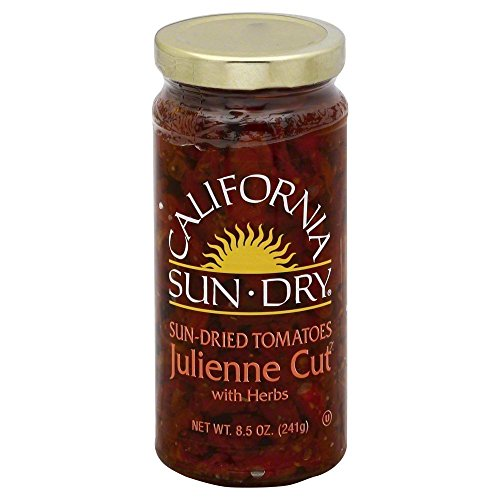 California Sun Dry Tomato Julienne In Oil