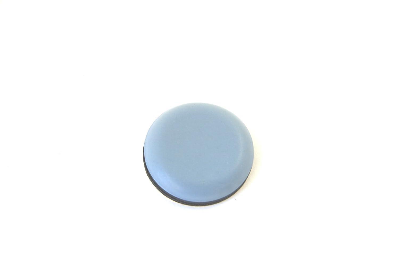 GLEITGUT 4 x Teflongleiter selbstklebend rund /Ø 19 mm kleinere M/öbelst/ücke M/öbelgleiter mit PTFE-Gleitfl/äche f/ür leichte
