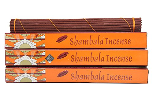 DharmaObjects Original Shambala Tibetan Traditional Incense (Large 3 Box) (Incense Traditional)