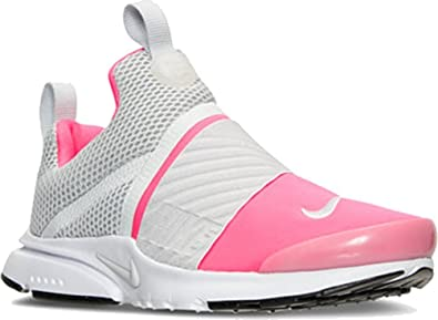 Nike Kids Presto Extreme Running Shoe (4 Big Kid M, Racer Pink/Pure