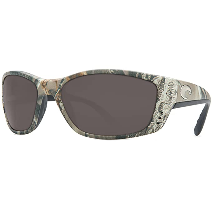 89d13bb7437 Amazon.com  Costa Del Mar Fisch Sunglasses Realtree AP Camo Gray 580P Lens  New  Clothing