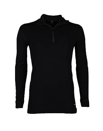 Dilling Merino Langarmshirt für Herren mit hohem Kragen und Reißverschluss   Amazon.de  Bekleidung c91f2e7fae