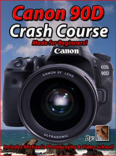 Maven Training Tutorial for Canon 90D – USB Not DVD – over 7 hours of lessons learning your Canon 90 D fast!