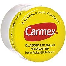 Carmex Classic Lip Balm Medicated 0.25 oz (Packs of 4)
