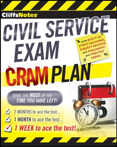 CliffsNotes Civil Service Exam Cram Plan (Cliffsnotes Cram Plan)