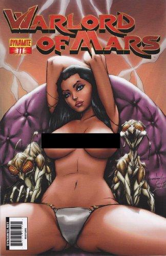 Warlord Of Mars #11 Retailer Incentive Ale Garza Risque Nude Art