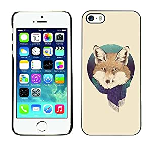 - WINTER FOREST FOX SNOW SCARF FOXY PORTRAIT - - Monedero pared Design Premium cuero del tir???¡¯???€????€?????n magn???&rsqu