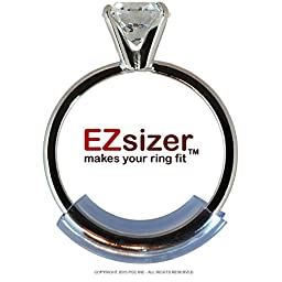 EZsizer - Ring Size Adjuster - 6 pack (SMALL / NARROW) - An Easy to use Ring Guard