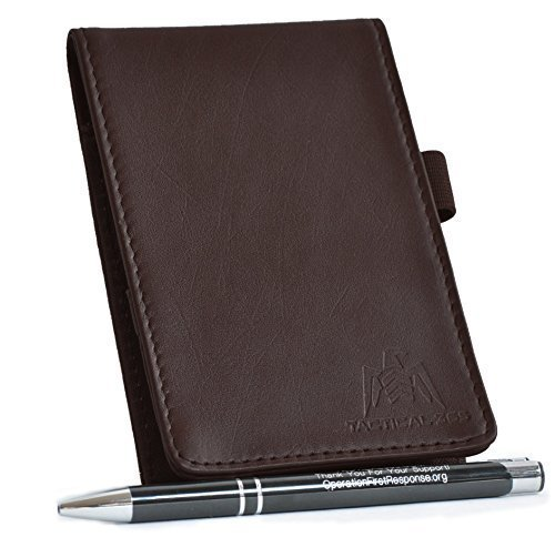 Tactical 365 Operation First Response Deluxe Leather Memo Pad Holder - ()