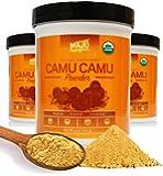 Organic Camu Camu Powder: Guaranteed Purest Source, 100% Raw, USDA Organic, Packaged in USA by Maju Superfoods