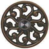 Solid Brass Veda Doorbell - Oil Rubbed Bronze