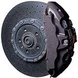 Foliatec Brake Caliper Lacquer Set - carbon metallic - 3 Components