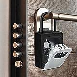 Suliper Key Lock Box with Shackle,4-Digit