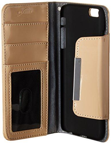 BoxWave iPhone 6Plus Case BoxWave Patent Leder Kupplung Apple iPhone 6Plus Schutzhülle–Vegan Leder Case Design mit Kartenfächern und hochwertiger Innenseite Design für Apple iPhone 6Plus, Apple i