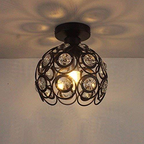 Eeayyygch Home Outdoor Beleuchtung Deckenleuchte Moderne American Style Eisen Retro Industrial Beleuchtung Korridor Lampen Warmes Licht 20 cm s (Farbe   -, Größe   -)