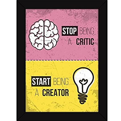 Fatmug Motivational Posters For Office And Home Decor Synthetic10 X 13Multicolour