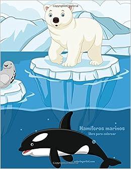 Mamíferos marinos libro para colorear 1: Volume 1: Amazon.es: Snels, Nick: Libros