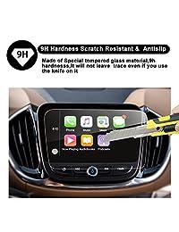 2016 2017 2018 Chevrolet Volt MyLink Protector de pantalla de navegación para auto de 8 pulgadas, RUIYA HD Clear CRISTAL TEMPERADO Película de protección para el tablero de instrumentos en el tablero
