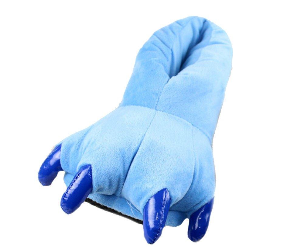 Très Chic Mailanda Slipper Bleu Pantoufle Animal Femme Hiver Souple en Peluche - Chaussure Animal Hiver Figure Bleu 3b72f90 - automatisms.space