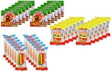 ULTIMATE GIANT MINI GUMMY FAST FOOD CANDY SAMPLER – Twelve Each of Mini Gummy Pizzas, Mini Hamburgers & Mini Hot Dogs, Individually Wrapped (36 Pieces)