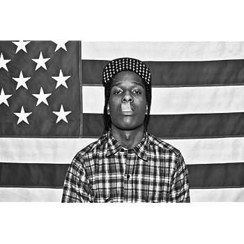 Asap Rocky Upside Down Flag