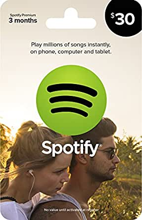 Spotify Gift Card $30
