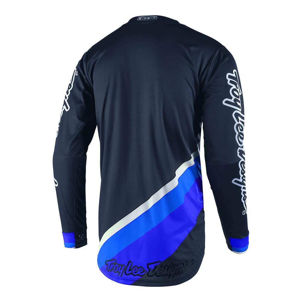 Blue, Large Troy Lee Designs Mens Off-Road Motocross GP Prisma 2 Jersey