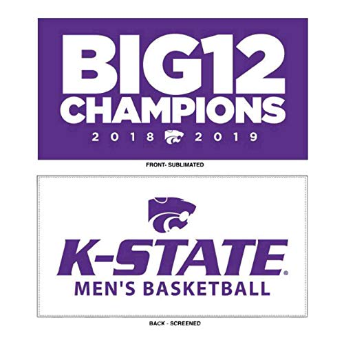 Kansas State Wildcats 2019 Big 12 Men's Basketball Champions Locker Room ()