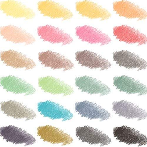 Mont Marte 90-Piece Premium Art Set, Wood Art Supplies for Painting and Drawing, Essentials Art Kit in Portable Aluminium Case, Includes Acrylic Paint, Oil Pastels, Color Pencils, Art Brushes