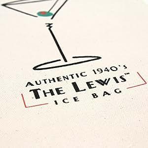 Lewis Ice Bag Retro 1940's style Cotton Canvas Ice Bag
