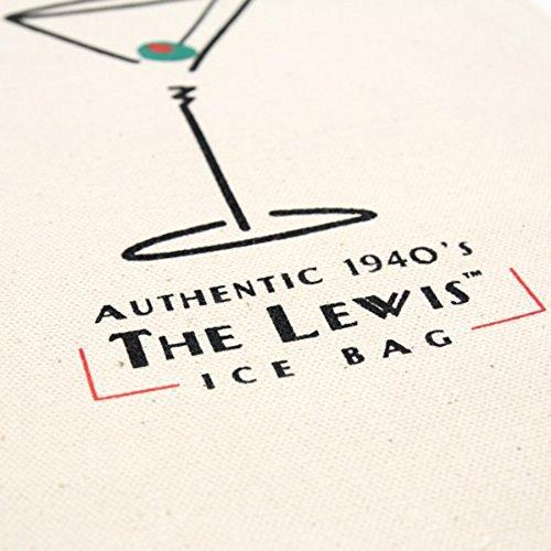 Franmara Lewis Ice Bag Retro 1940's style Cotton Canvas I...