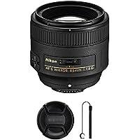 Nikon AF-S FX NIKKOR 50mm f/1.8G Lens with Auto Focus for Nikon DSLR Cameras with Camera Bundle