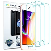 Tech Armor Apple iPhone 7, iPhone 8 (4.7 pulgadas) HD Clear Film Protector de pantalla (no de vidrio) [3-Pack]