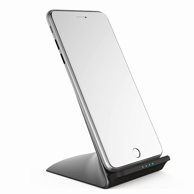 tochic rápido cargador inalámbrico soporte 10 W para iPhone ...