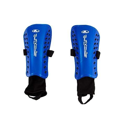 b154755f4cc38 Caneleira Futebol Com Tornozeleira F11 Spoart (Azul)  Amazon.com.br ...