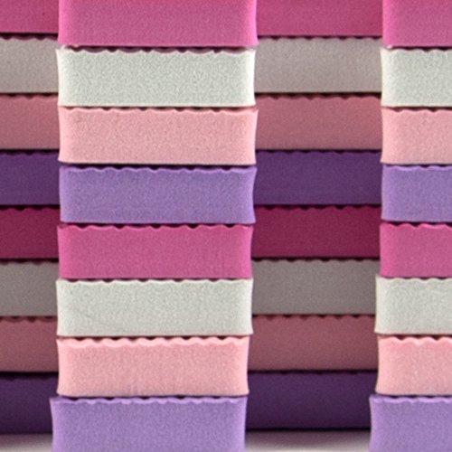 Tadpoles 36 Sq Ft ABC Floor Mat Pink//Purple