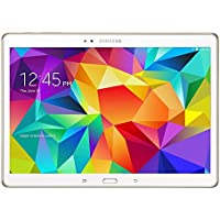 Samsung Galaxy Tab S 10.5-Inch Tablet 16GB SSD WiFi + 4G LTE Verizon - Dazzling White (Certified Refurbished)
