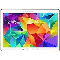 Samsung Galaxy Tab S 10.5-Inch Tablet 16GB SSD WiFi + 4G LTE Verizon - Dazzling White (Certified Refurbished)